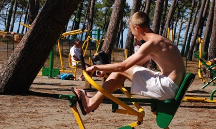 le vieux port - camping met fitness